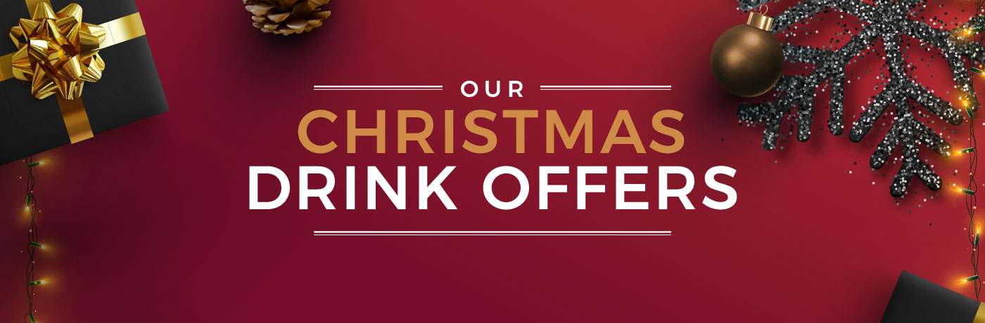 Christmas Drinks offers at Ember Inns