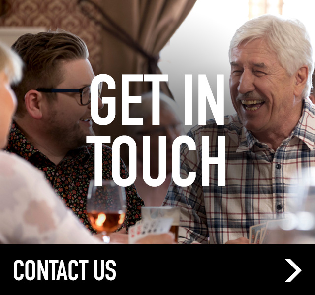 Get in Touch at The Three Stags