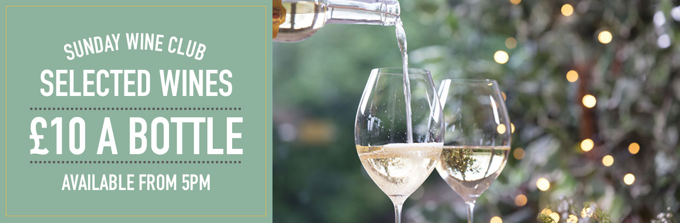 Sunday Wine Club at The Fox and Hounds