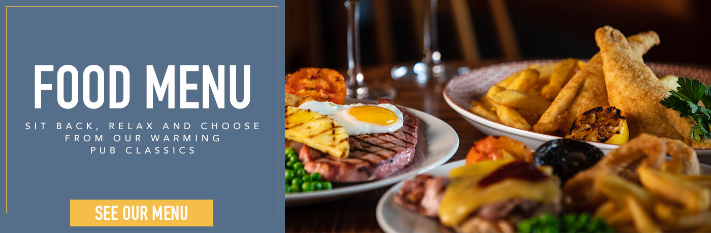 New Menus at The Britannia Inn