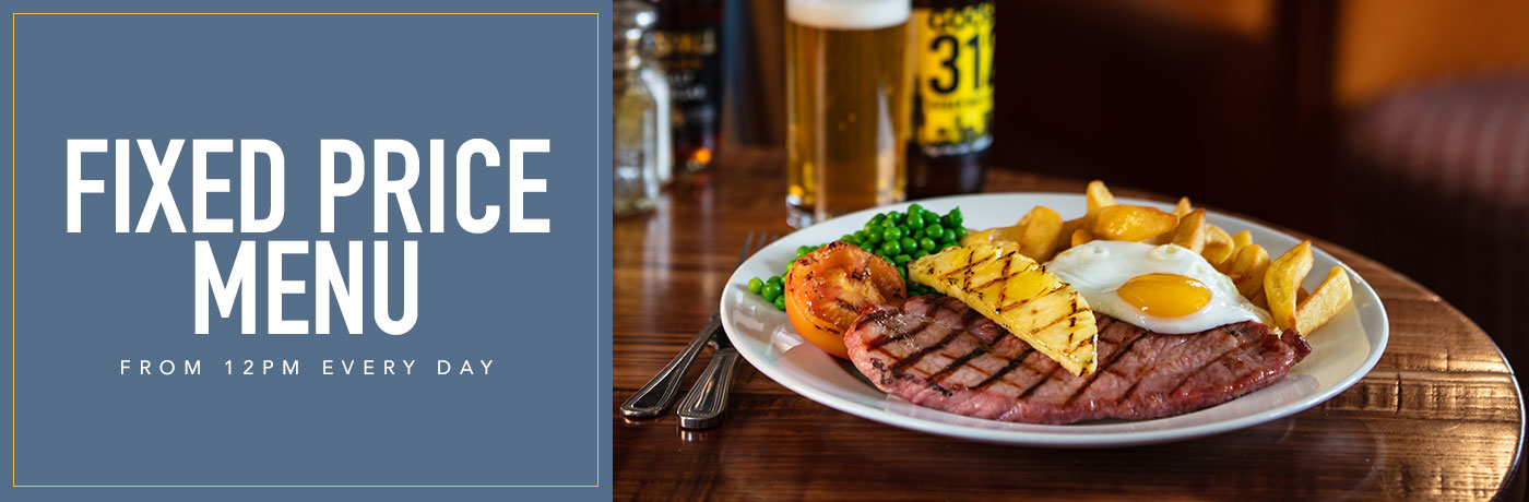 Fixed price menu at The Denton