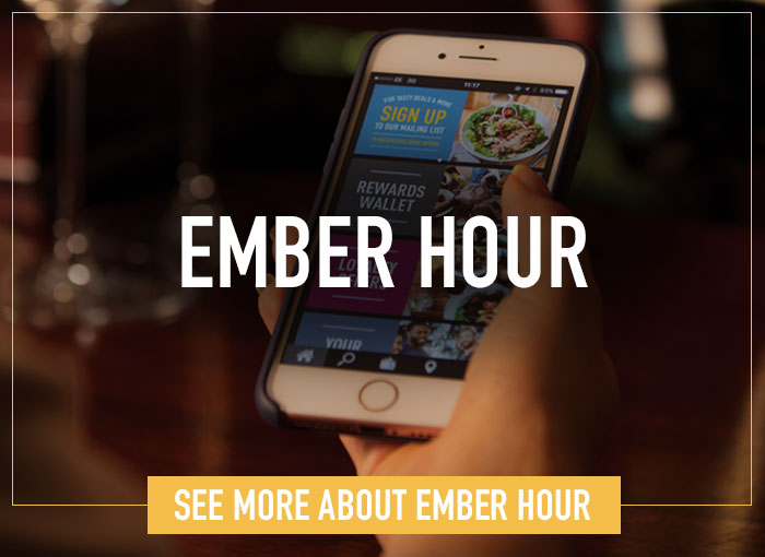 Ember Hour, earn double stamps!