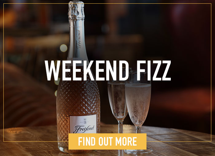 Weekend Fizz at Ember Inns