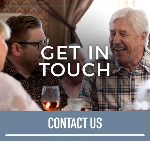 Get in Touch at The Huntsman and Hounds
