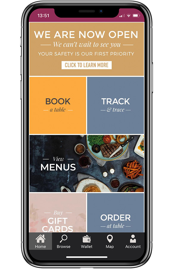 Download the Ember Inns app