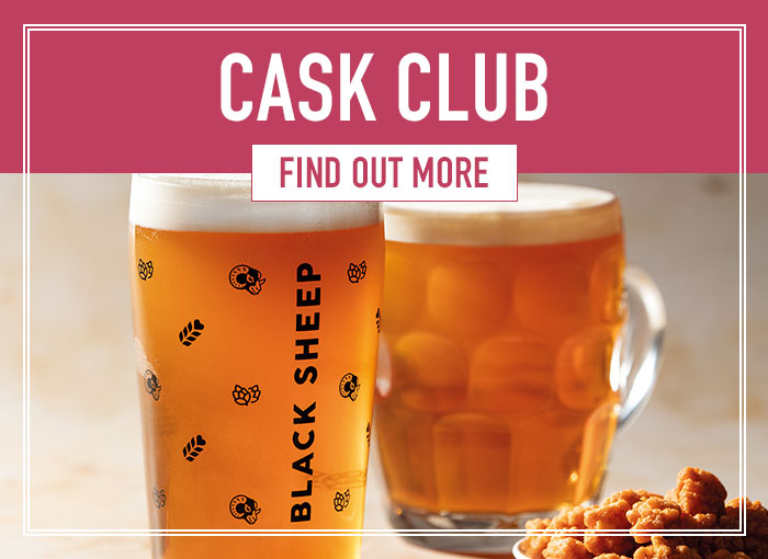 Try our cask ales