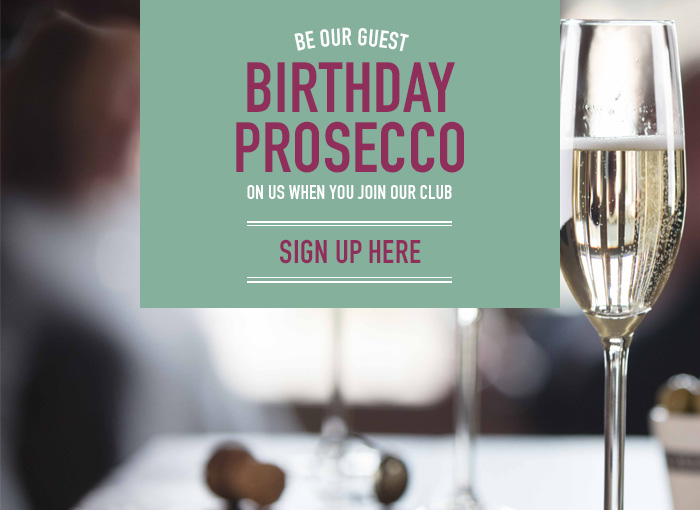 Birthday Prosecco