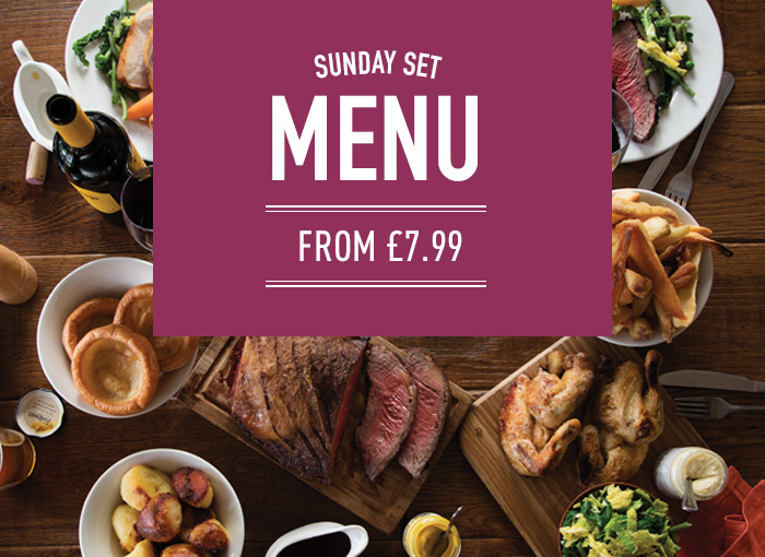 Sunday Lunch at The Anderton Arms