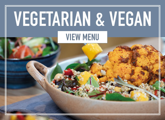 Vegetarian & Vegan menu