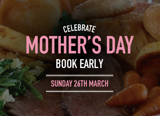 Book early for Mother's Day at Ember Inns