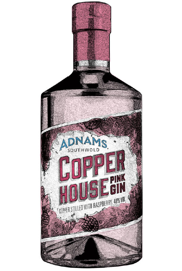 Adnams Copper House Pink Gin