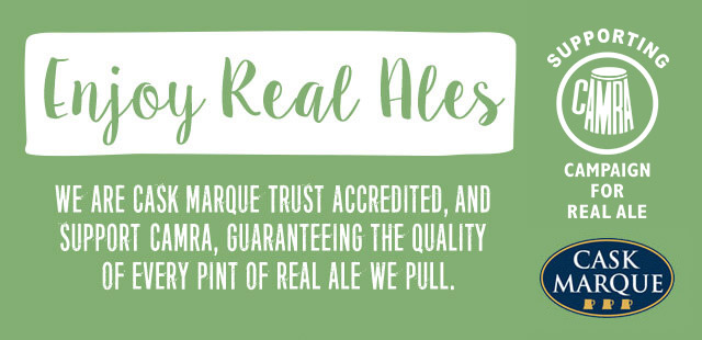 CAMRA beers at The Mawney Arms