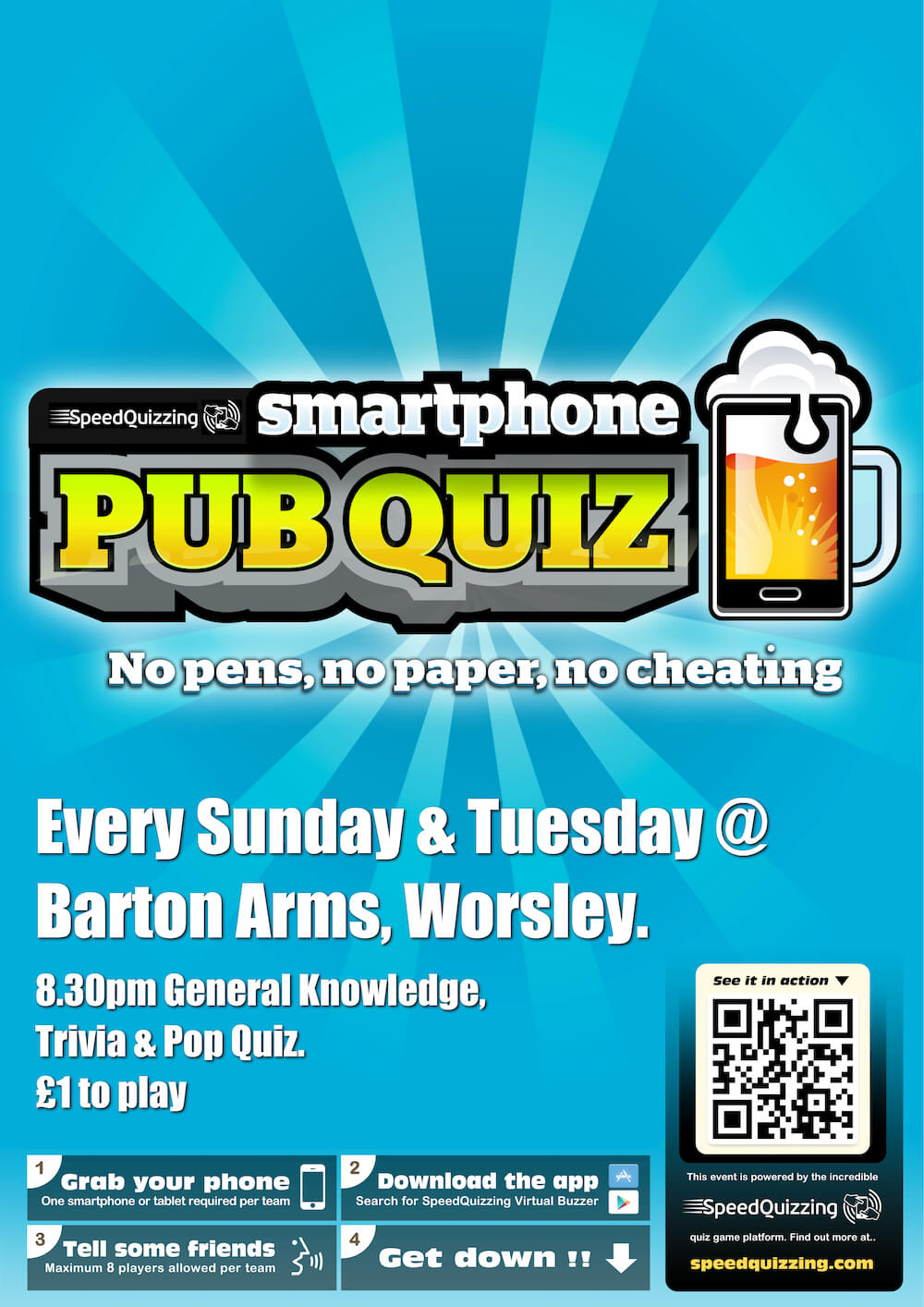 Pub Quiz at The Barton Arms in Manchester