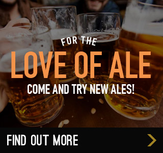See our latest ales at The Huntsman and Hounds