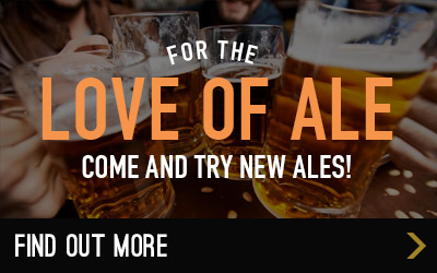 See our latest ales at The Queen's Head